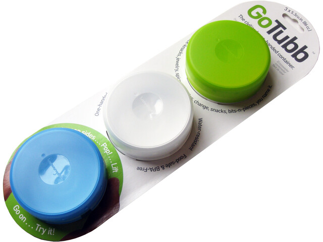 humangear GoTubb Can Set Medium, multicolor